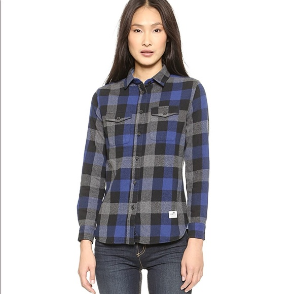 Madewell Tops - NWT MADEWELL Penfield Plaid Flannel Shirt Size XS